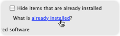 Install-already-installed
