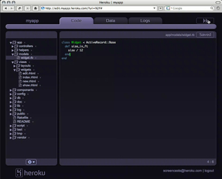 The Heroku IDE