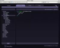 Heroku-code-editor